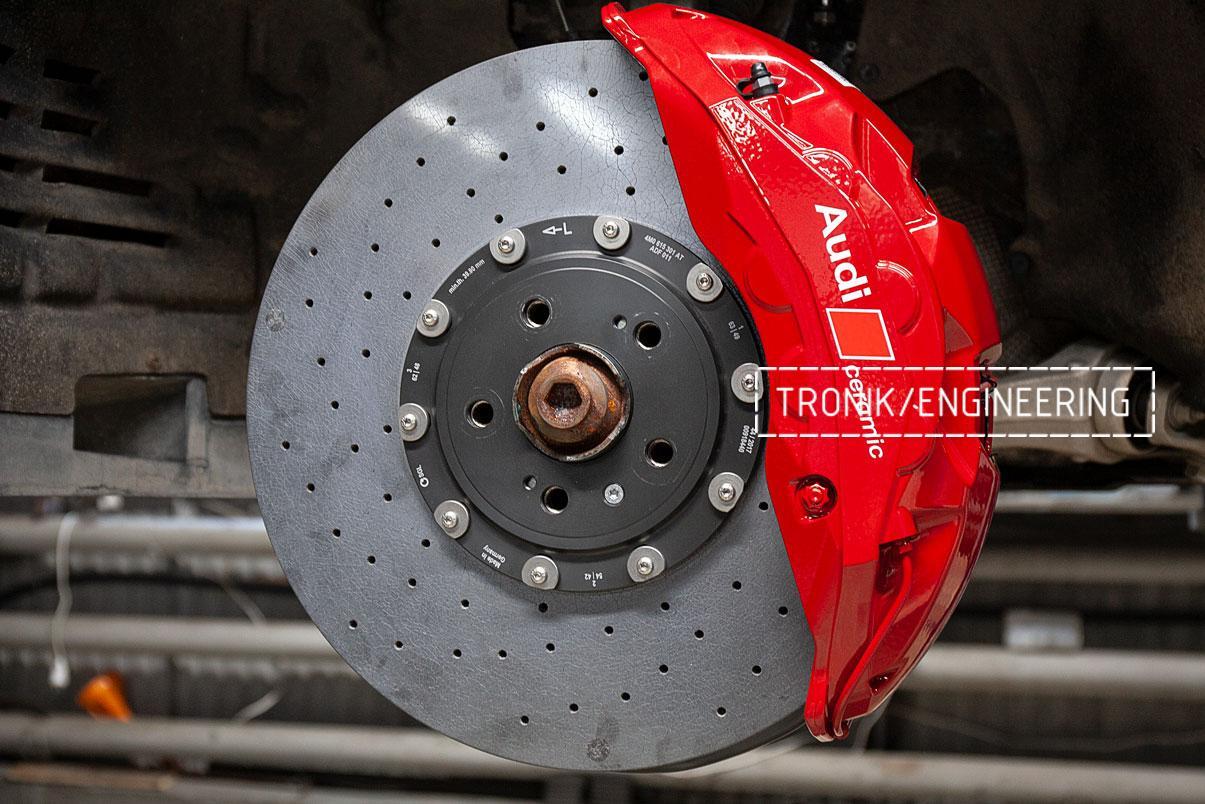 Карбон-керамическая тормозная система Audi SQ8. Фотография 9