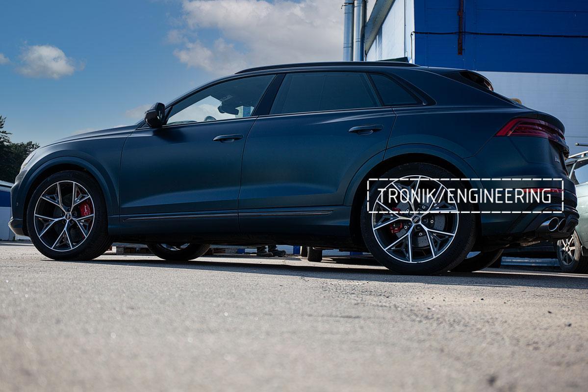 Audi SQ8 карбон-керамическая тормозная система. Фото 4