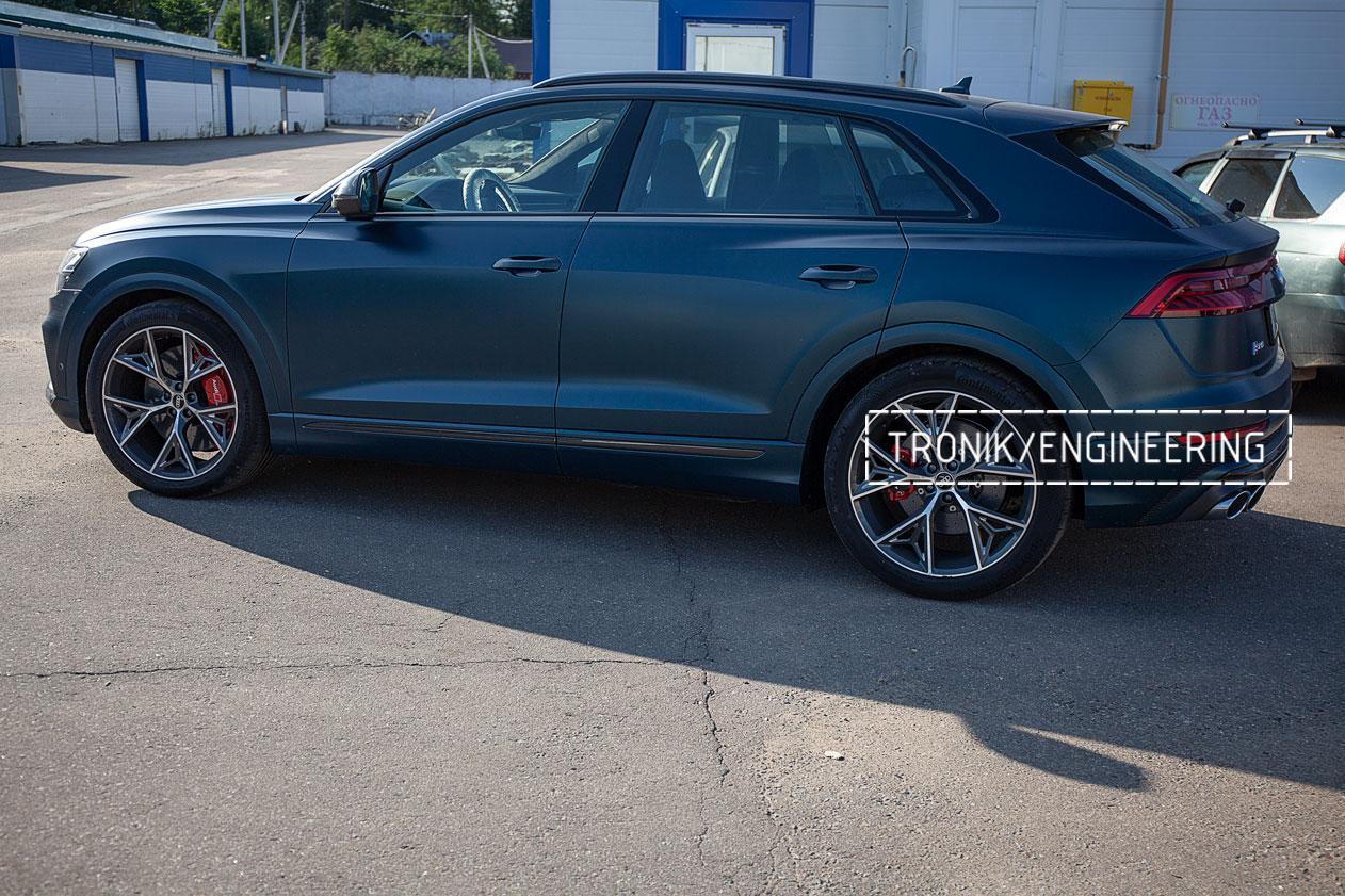 Audi SQ8 карбон-керамическая тормозная система. Фото 6