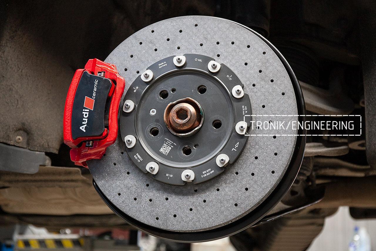 Audi SQ8 тормозная система задней оси. фото 1