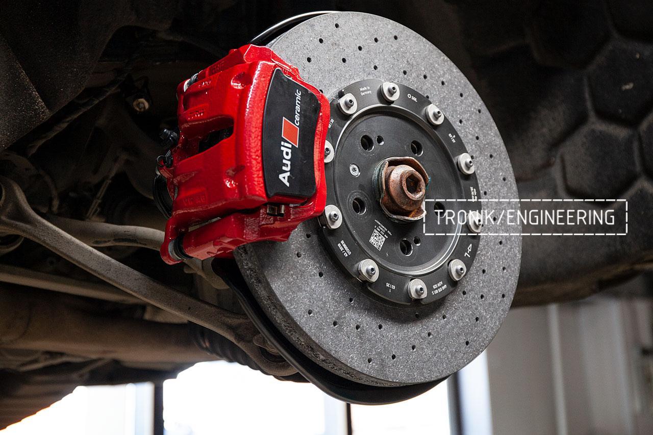 Audi SQ8 тормозная система задней оси. фото 2