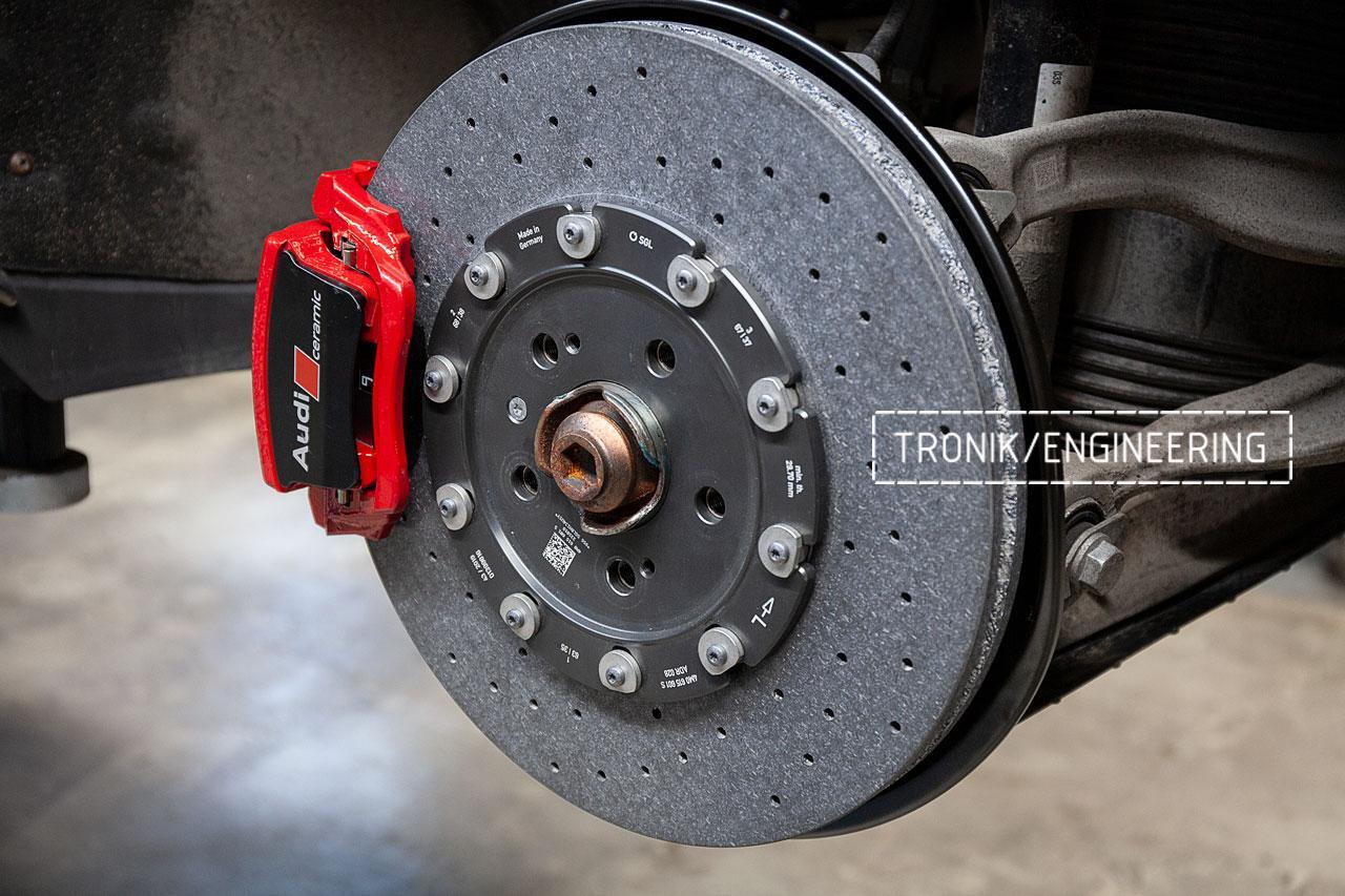 Audi SQ8 тормозная система задней оси. фото 3