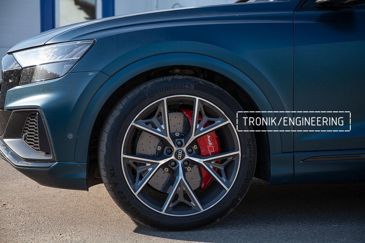 Audi SQ8 карбон-керамическая тормозная система. Фото 1