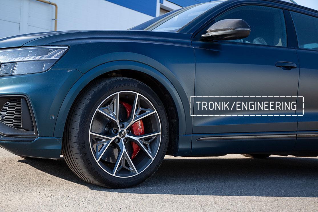 Audi SQ8 карбон-керамическая тормозная система. Фото 2