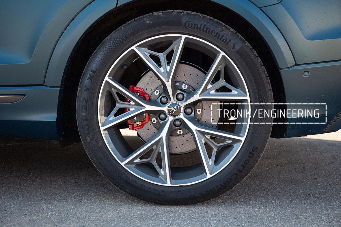 Audi SQ8 карбон-керамическая тормозная система. Фото 5