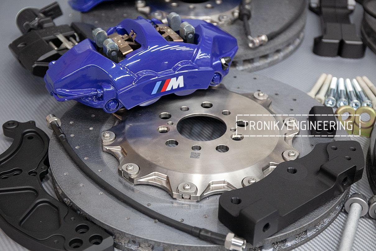 Карбон-керамическая тормозная система BMW X5 F95. фото 1