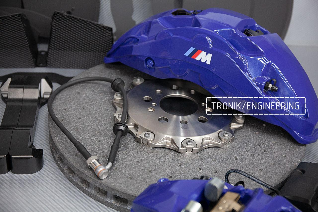 Карбон-керамическая тормозная система BMW X5 F95. фото 3