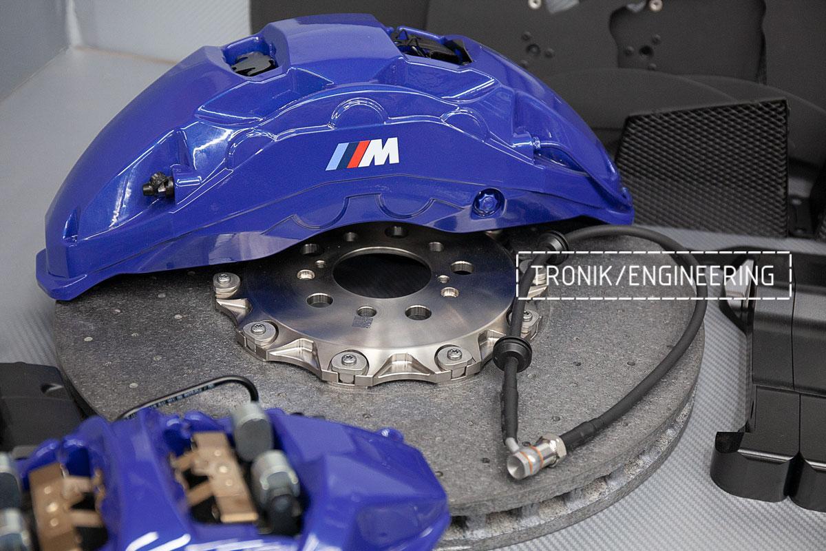 Карбон-керамическая тормозная система BMW X5 F95. фото 4