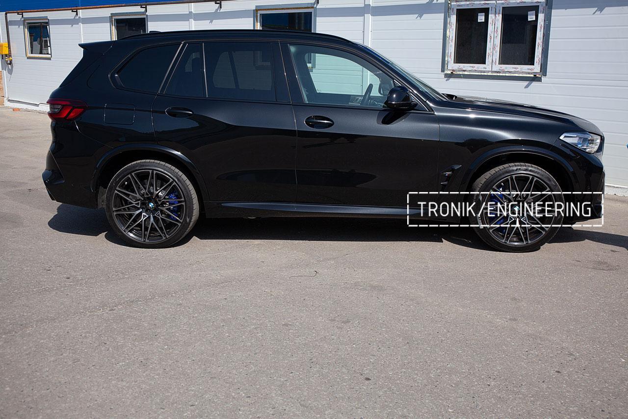 Карбон-керамическая тормозная система BMW X5 F95/X6 F96. фото 9
