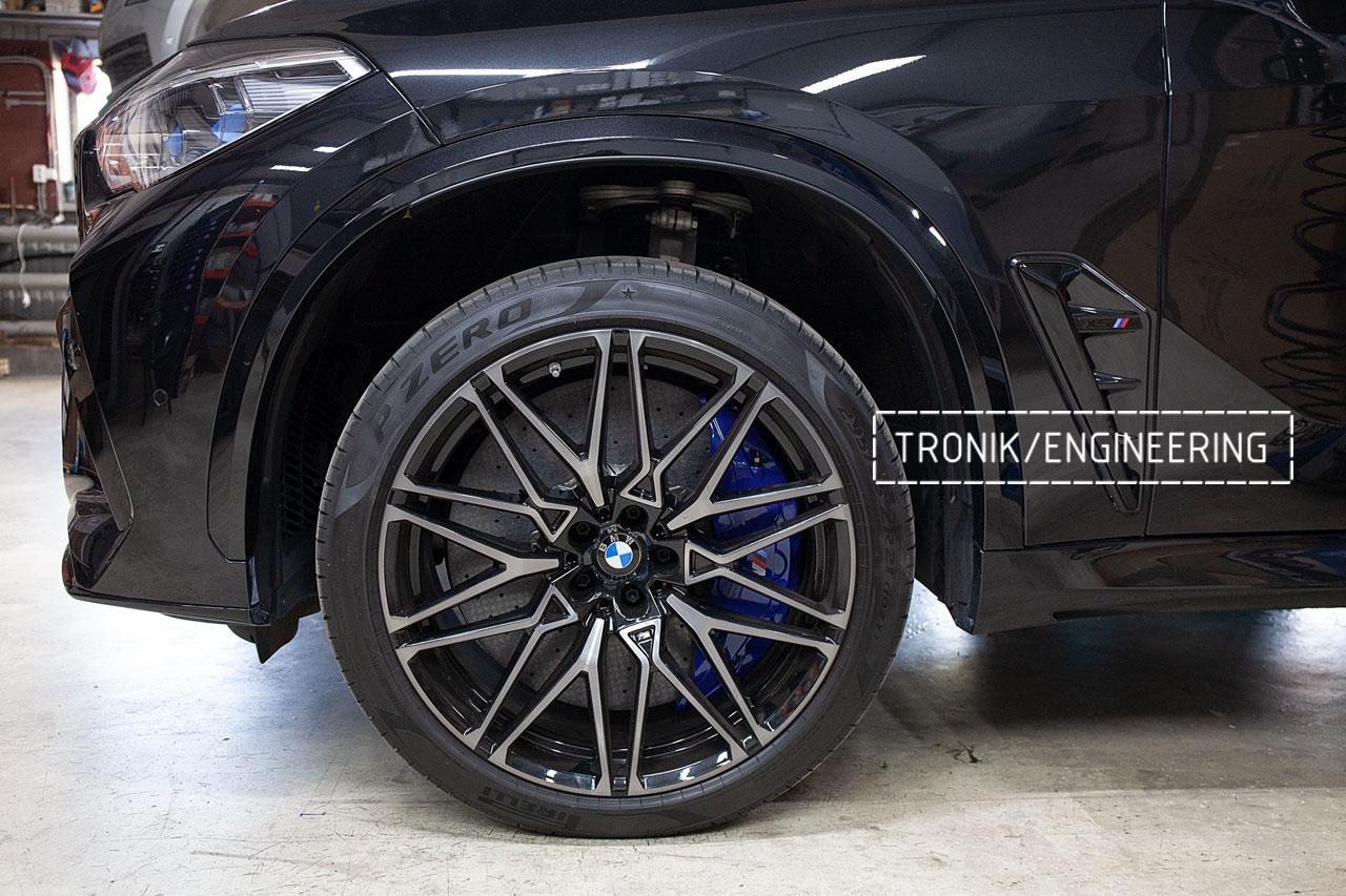 Карбон-керамическая тормозная система BMW X5 F95/X6 F96. фото 1
