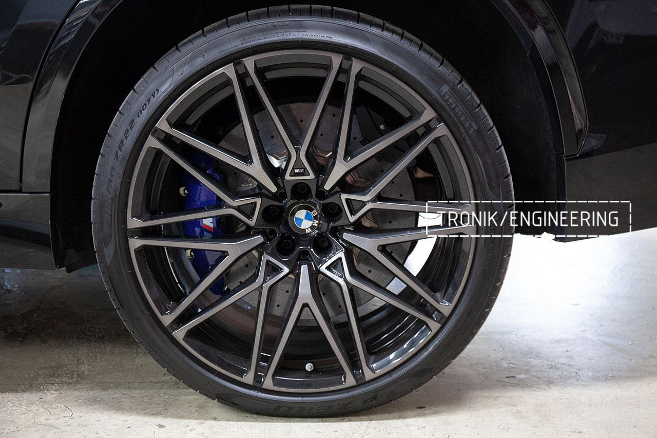Карбон-керамическая тормозная система BMW X5 F95/X6 F96. фото 2