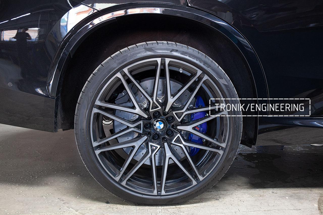 Карбон-керамическая тормозная система BMW X5 F95/X6 F96. фото 3