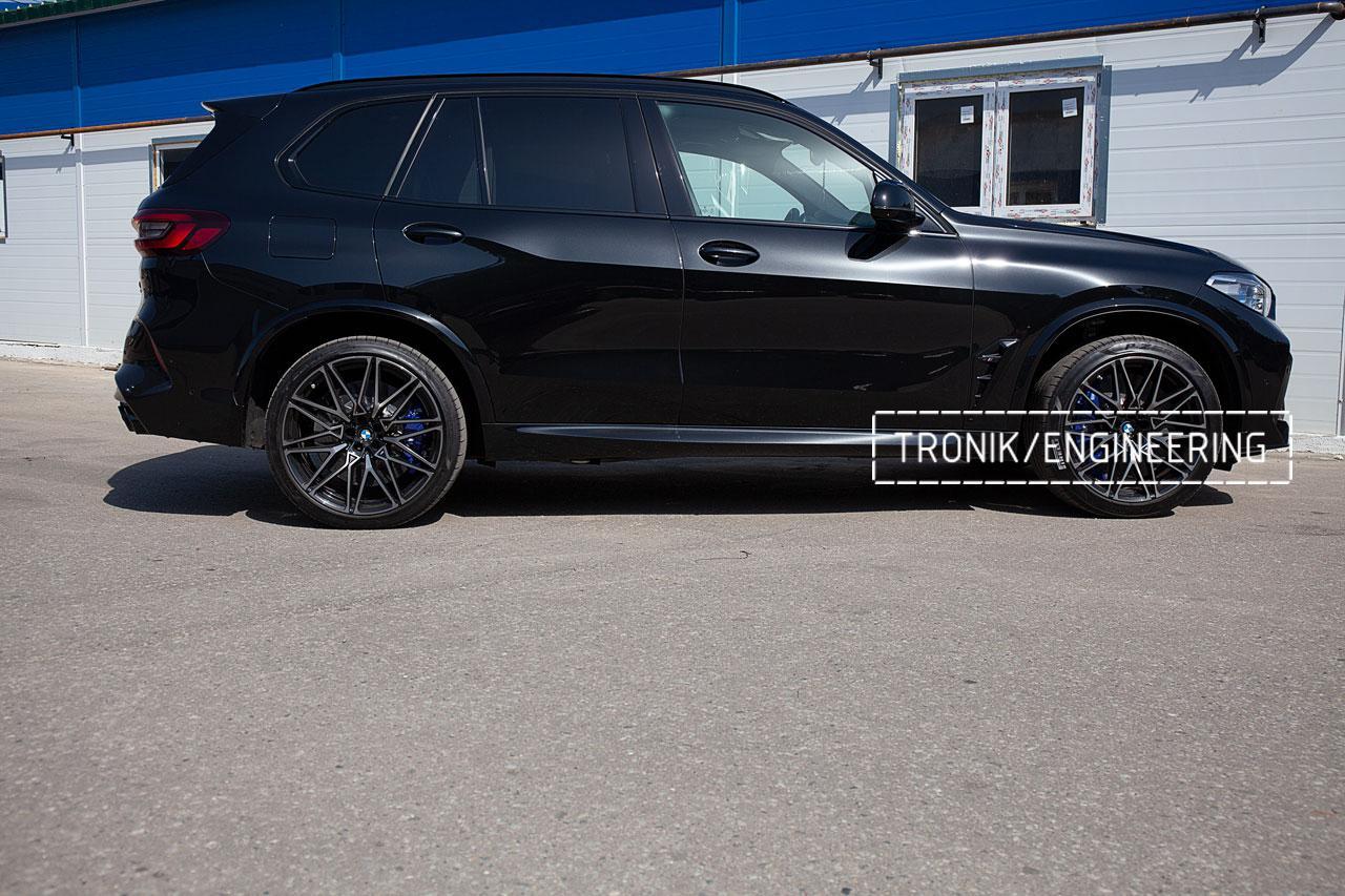 Карбон-керамическая тормозная система BMW X5 F95/X6 F96. фото 4