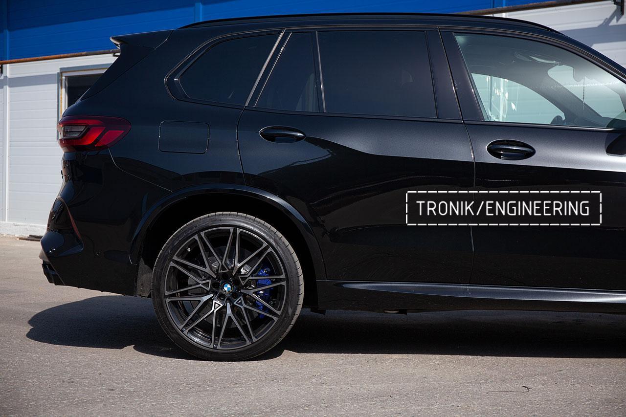 Карбон-керамическая тормозная система BMW X5 F95/X6 F96. фото 5