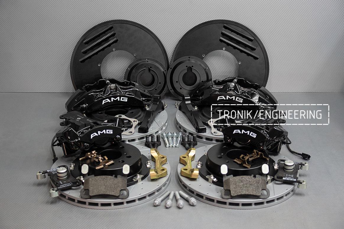 Комплект тормозной системы Mercedes-Benz W126. Фото 1