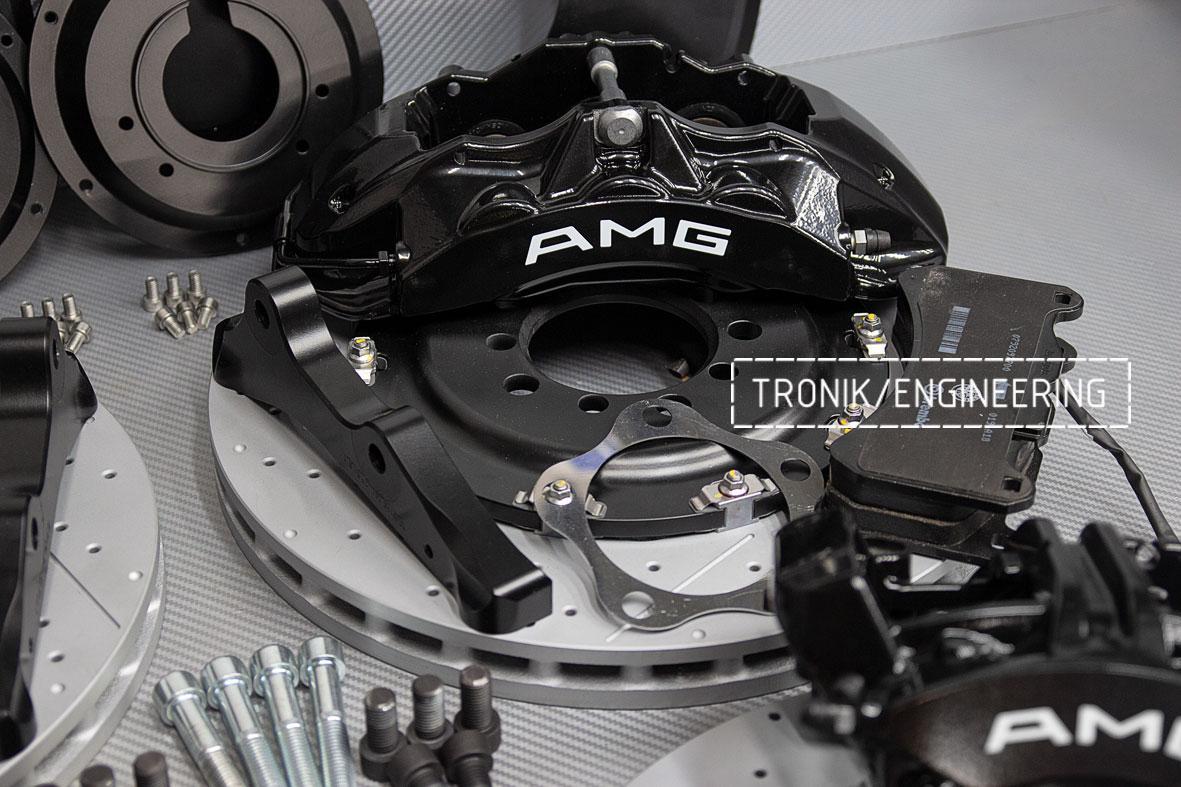 Комплект тормозной системы Mercedes-Benz W126. Фото 2