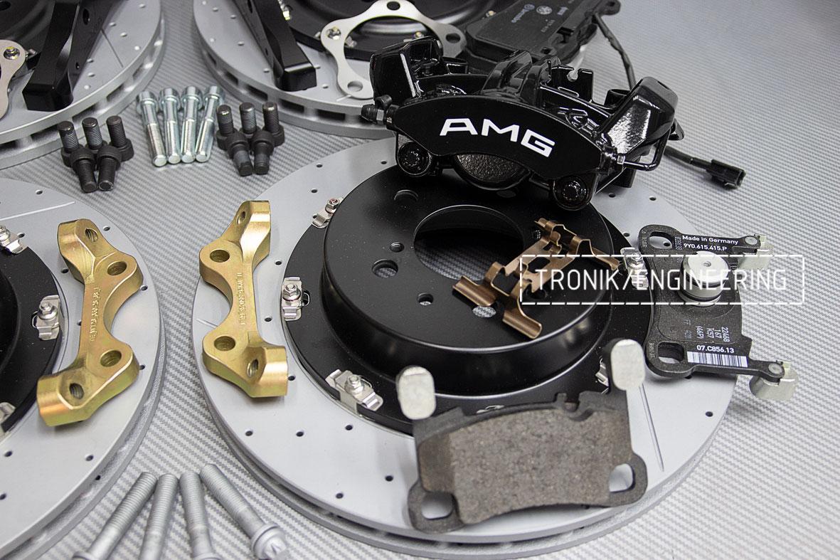 Комплект тормозной системы Mercedes-Benz W126. Фото 3