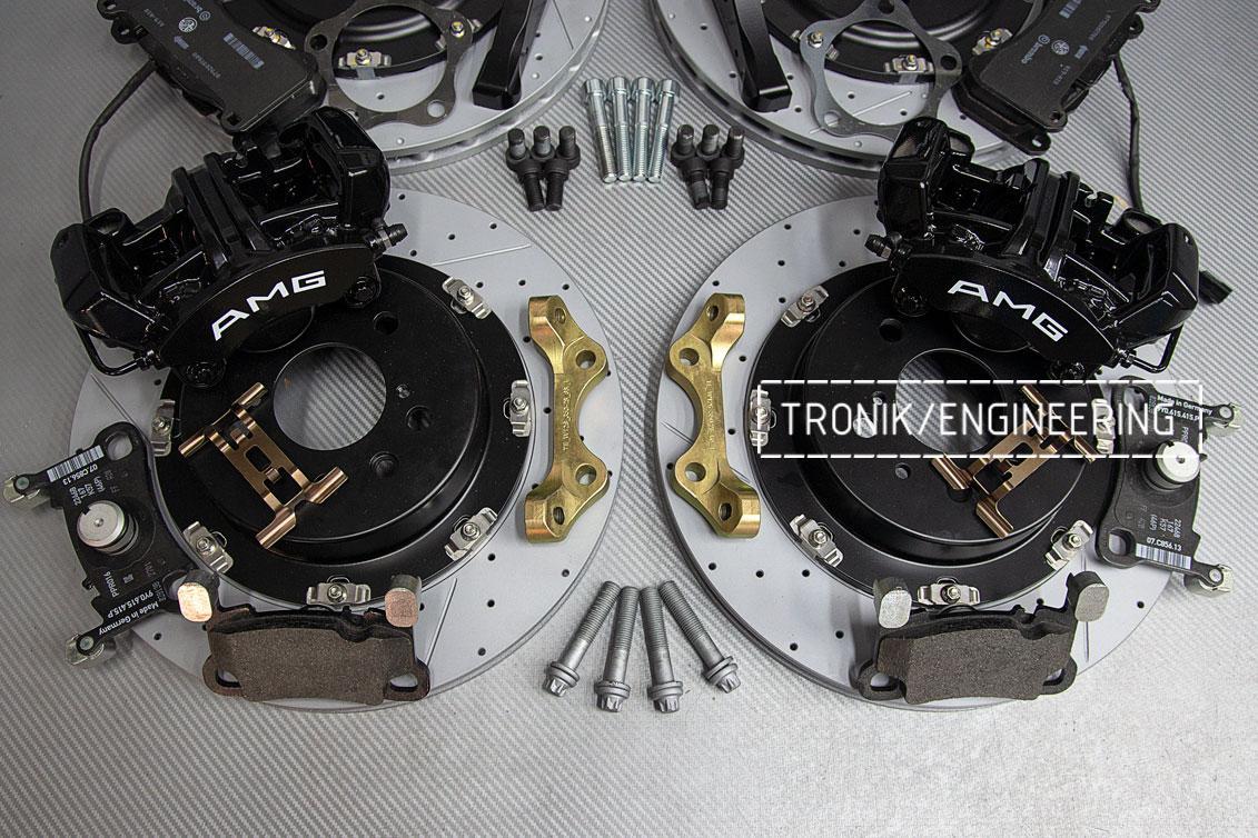 Комплект тормозной системы Mercedes-Benz W126. Фото 4