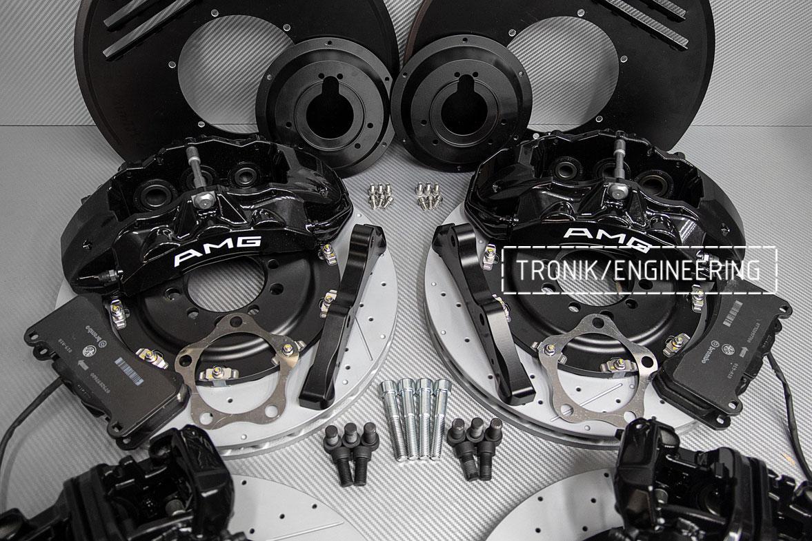 Комплект тормозной системы Mercedes-Benz W126. Фото 5