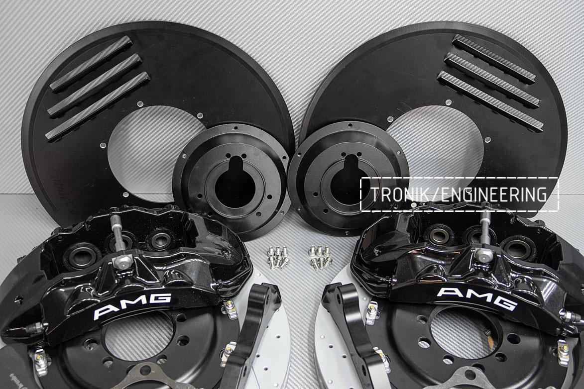 Комплект тормозной системы Mercedes-Benz W126. Фото 6