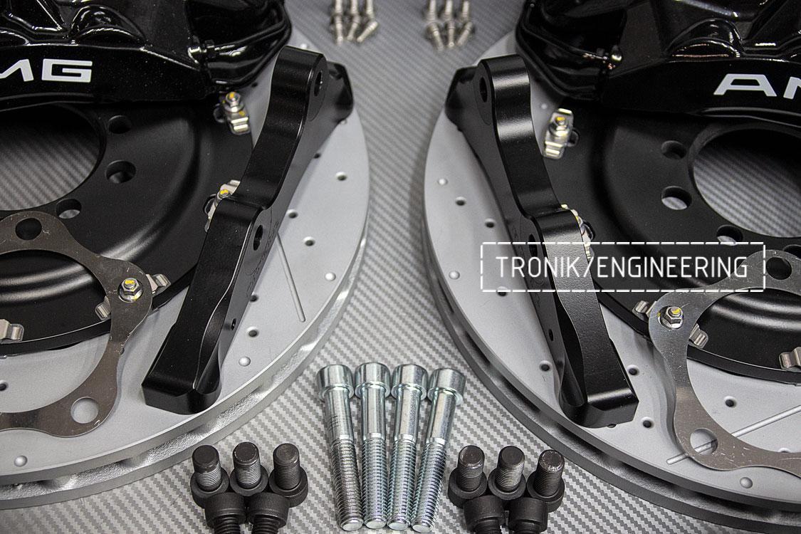 Комплект тормозной системы Mercedes-Benz W126. Фото 7