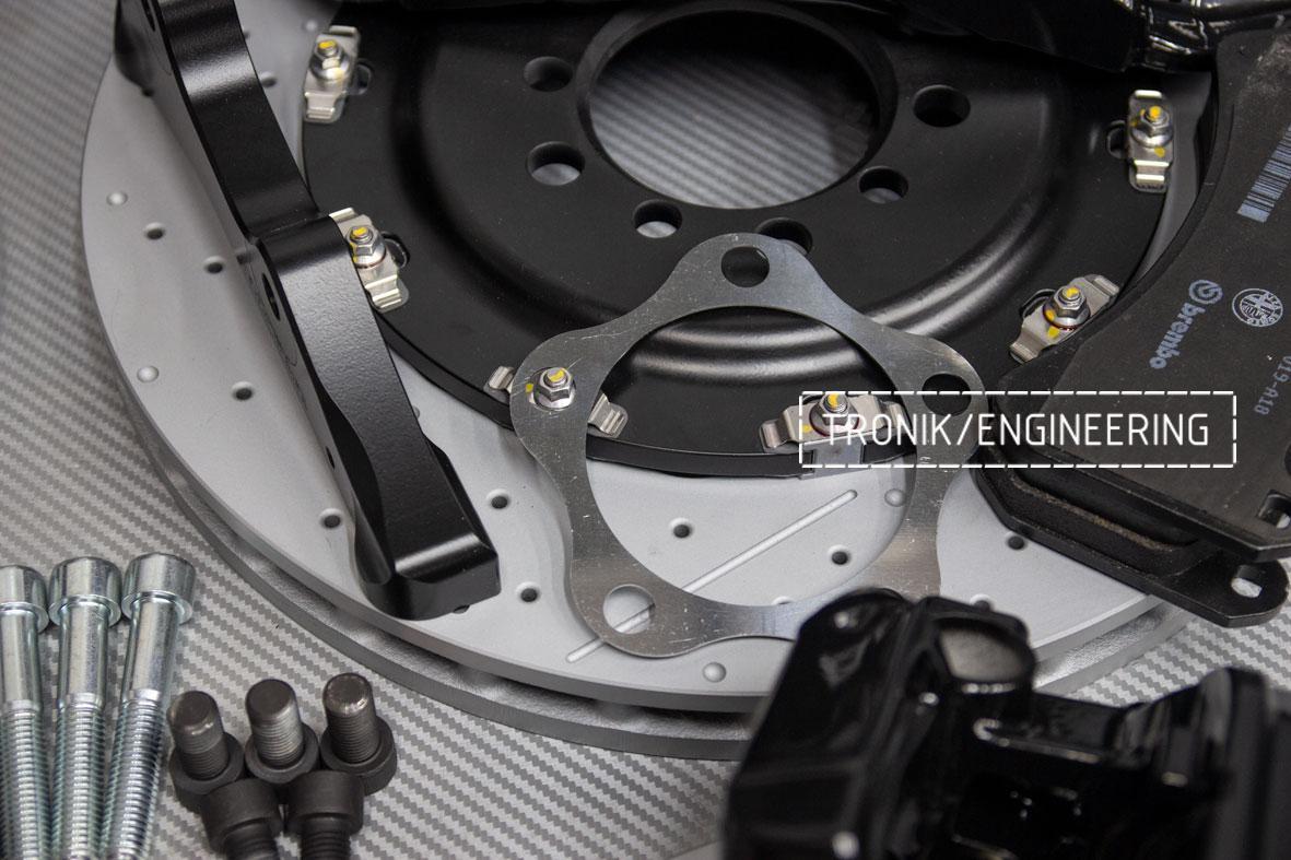 Комплект тормозной системы Mercedes-Benz W126. Фото 8