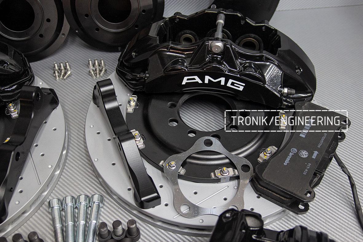 Комплект тормозной системы Mercedes-Benz W126. Фото 9