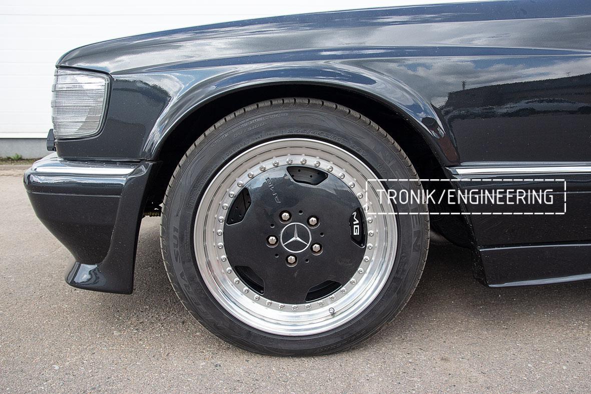 Тормозная система Mercedes-Benz W126. Фото 10