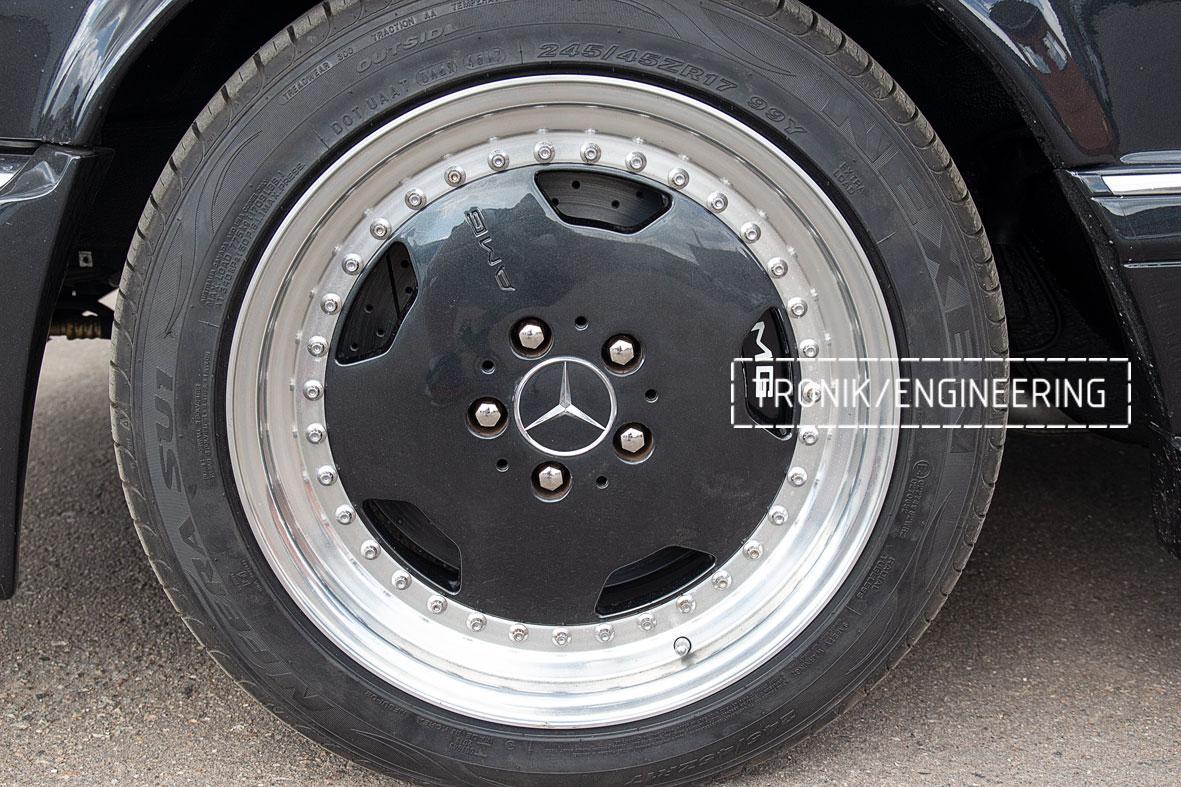Тормозная система Mercedes-Benz W126. Фото 11