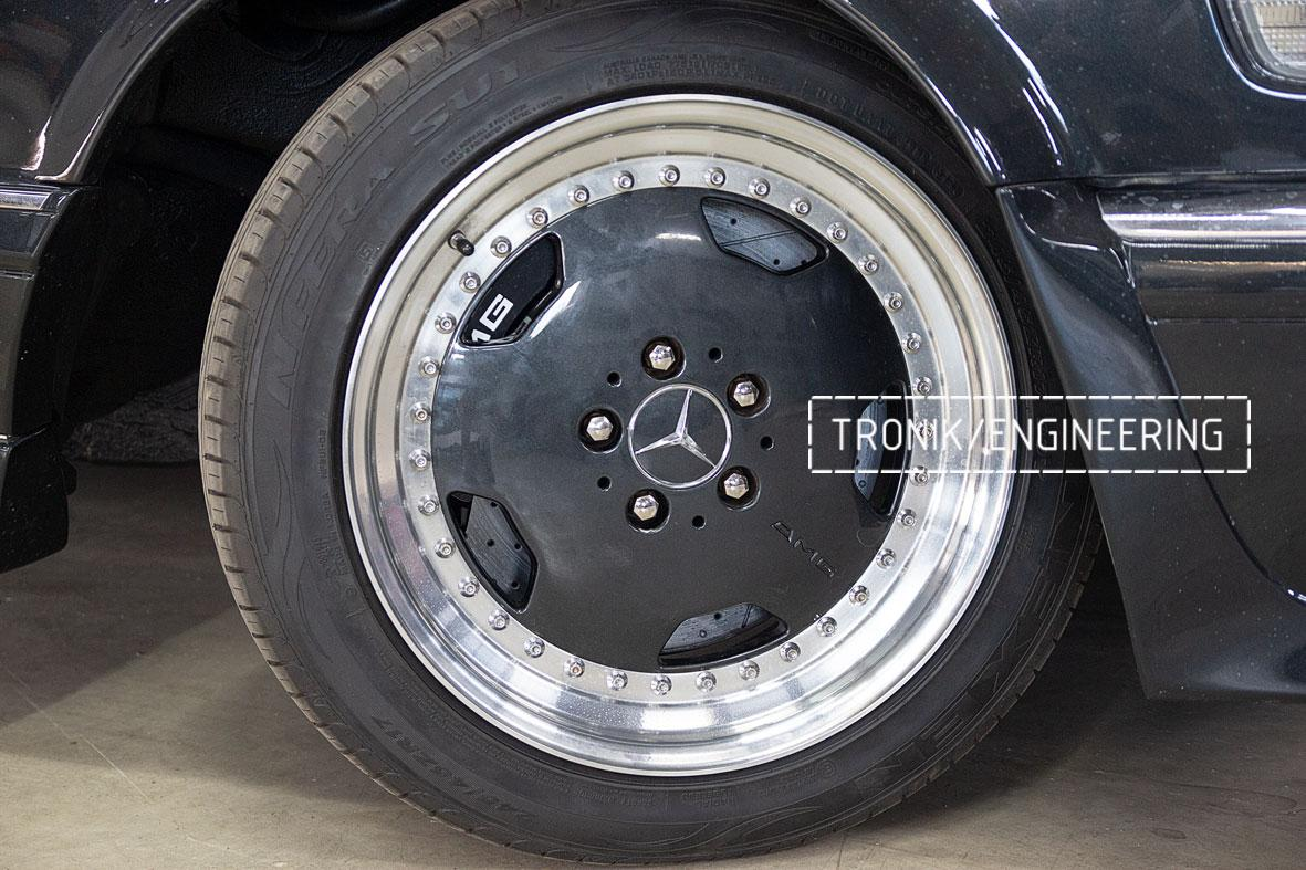 Тормозная система Mercedes-Benz W126. Фото 2