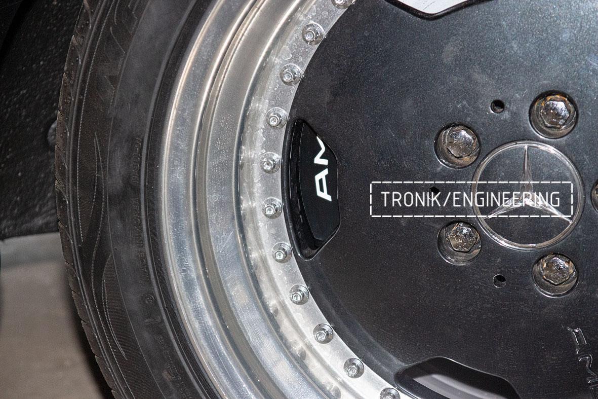 Тормозная система Mercedes-Benz W126. Фото 3