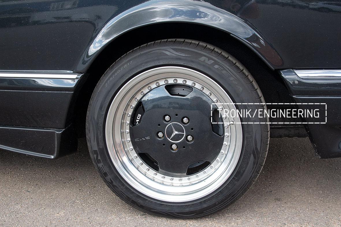 Тормозная система Mercedes-Benz W126. Фото 7