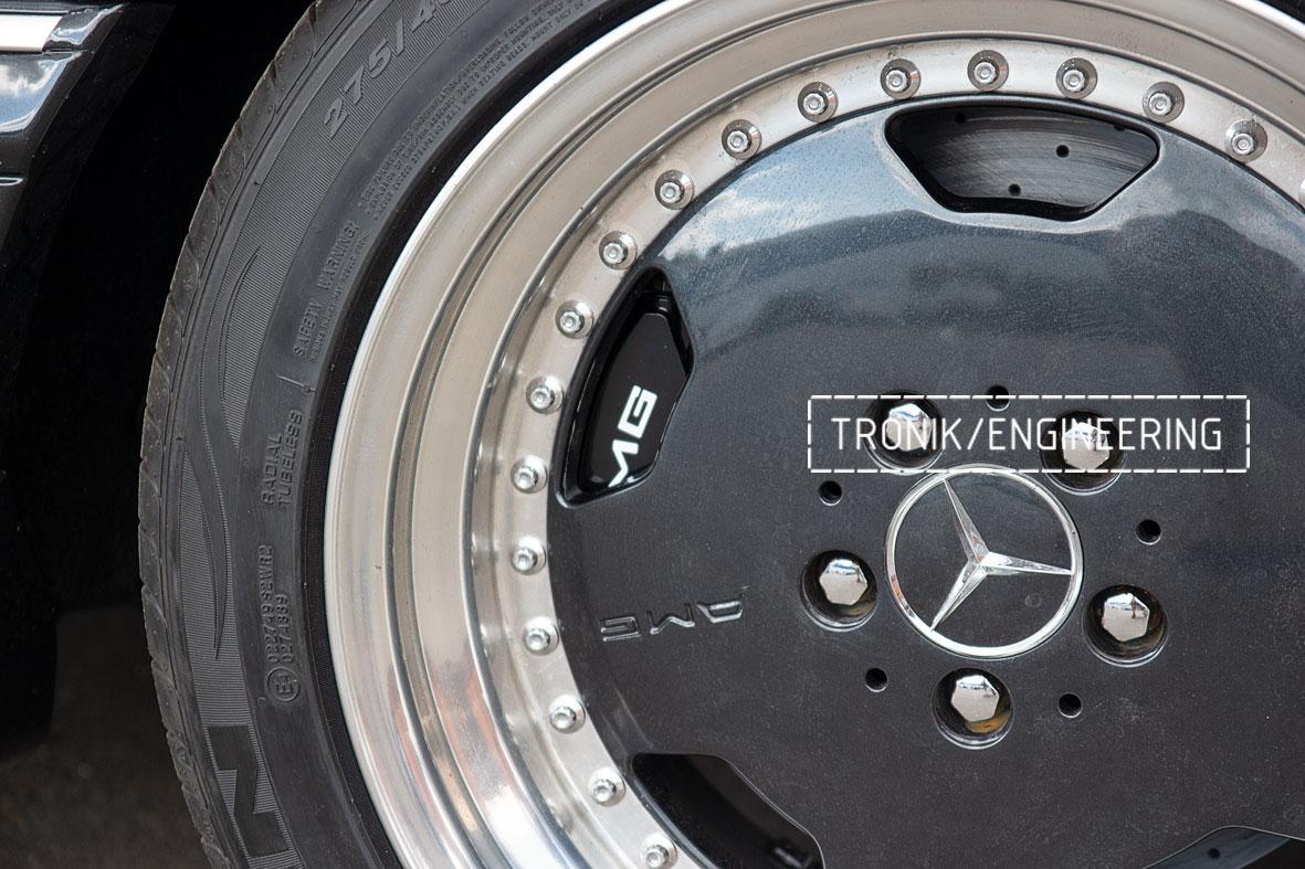 Тормозная система Mercedes-Benz W126. Фото 8