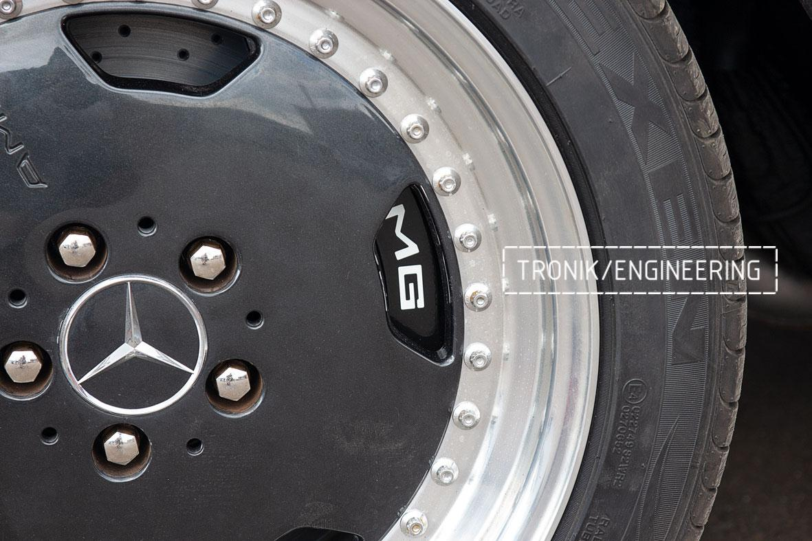 Тормозная система Mercedes-Benz W126. Фото 9