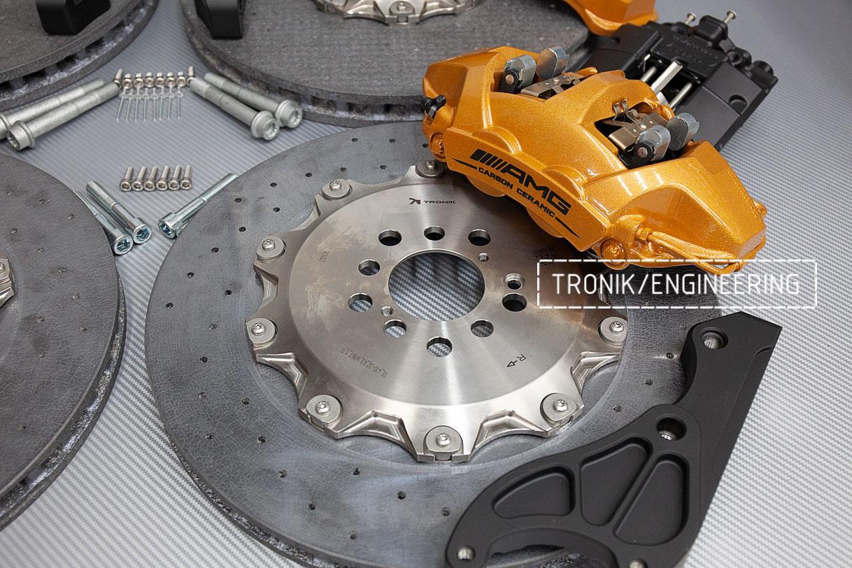 Комплект карбон-керамической тормозной системы Mercedes-Benz W167. фото 1
