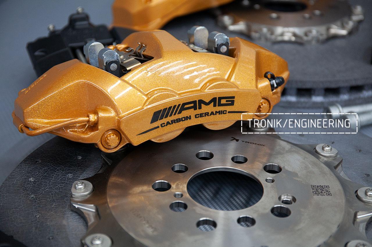 Комплект карбон-керамической тормозной системы Mercedes-Benz W167. фото 4