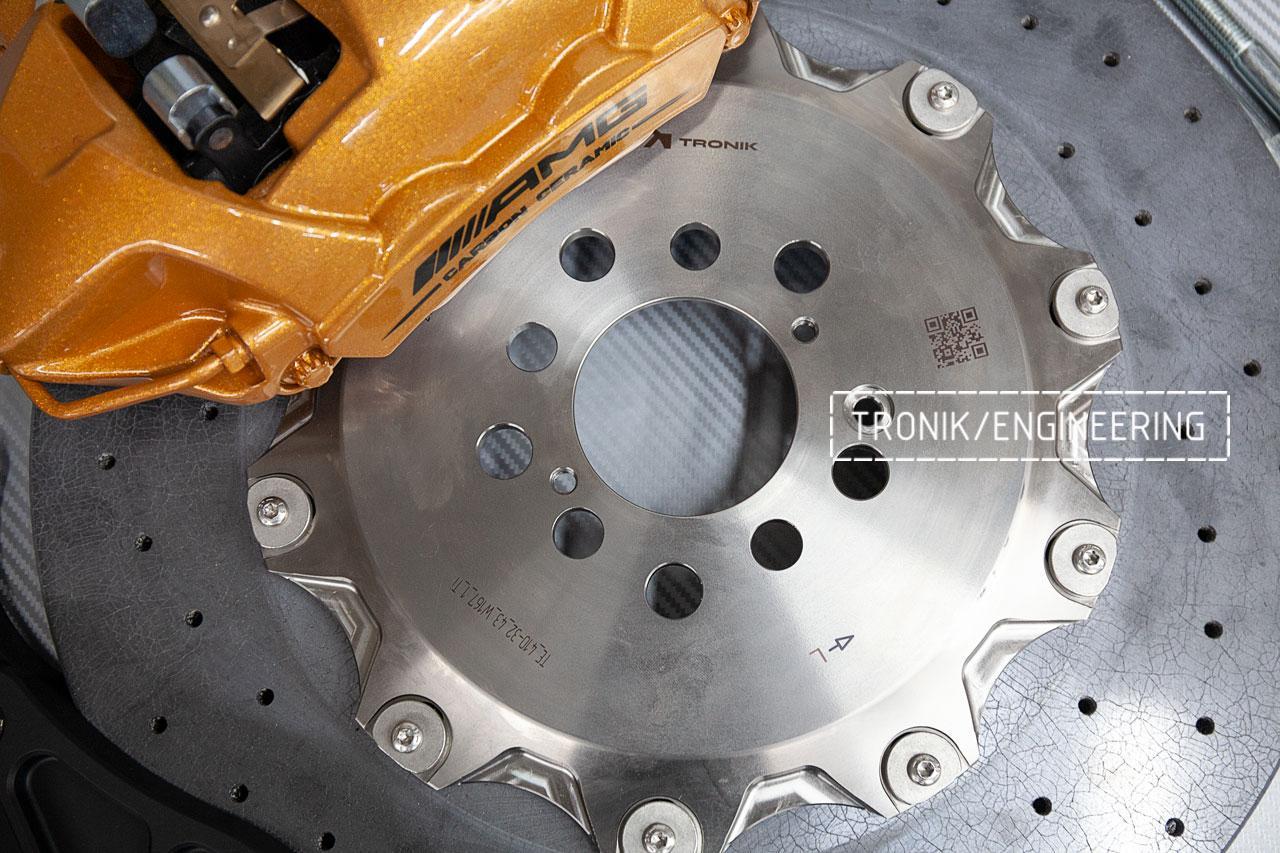 Комплект карбон-керамической тормозной системы Mercedes-Benz W167. фото 7