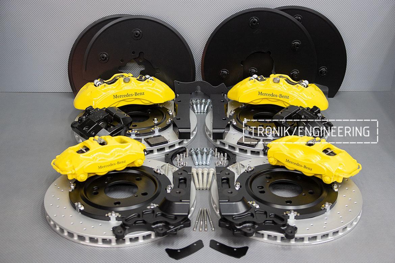 Комплект тормозной системы Mercedes-Benz W463276. фото. 2