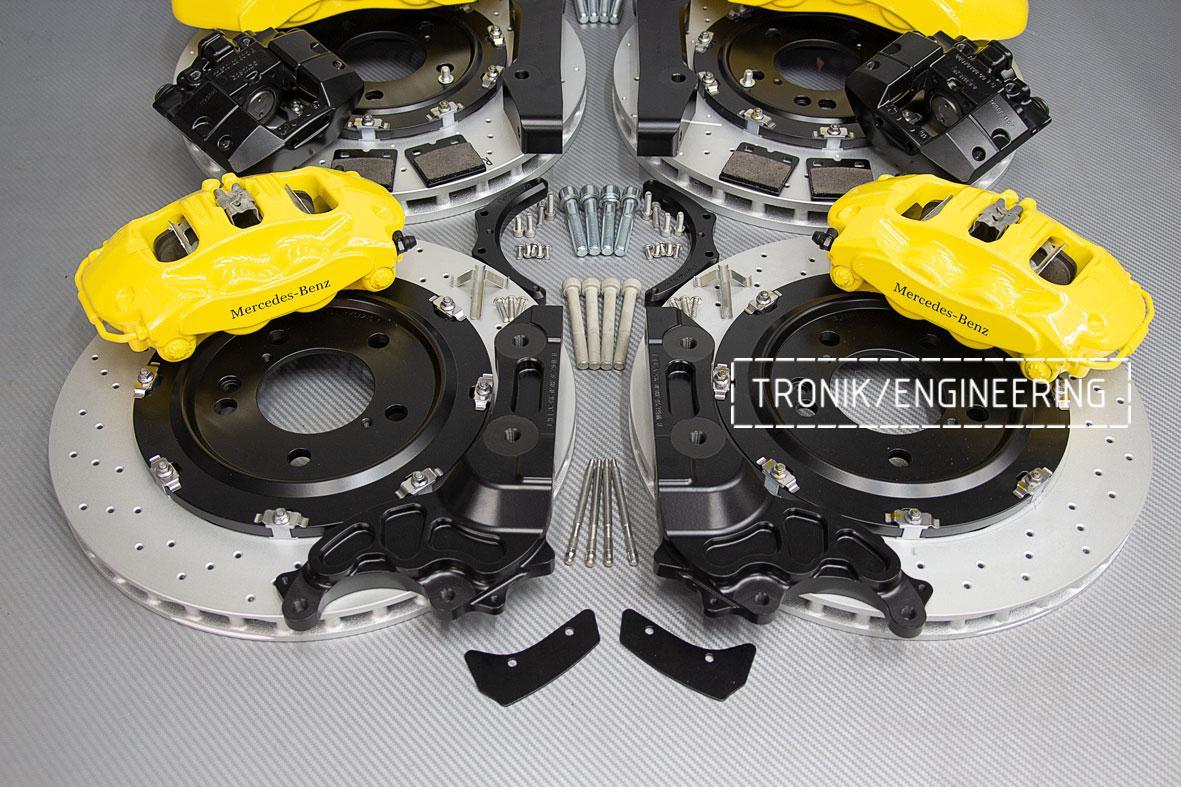 Комплект тормозной системы Mercedes-Benz W463276. фото. 3