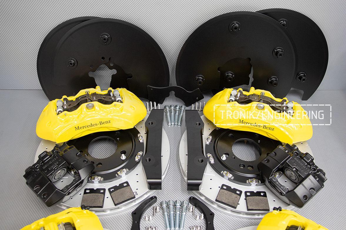 Комплект тормозной системы Mercedes-Benz W463276. фото. 4