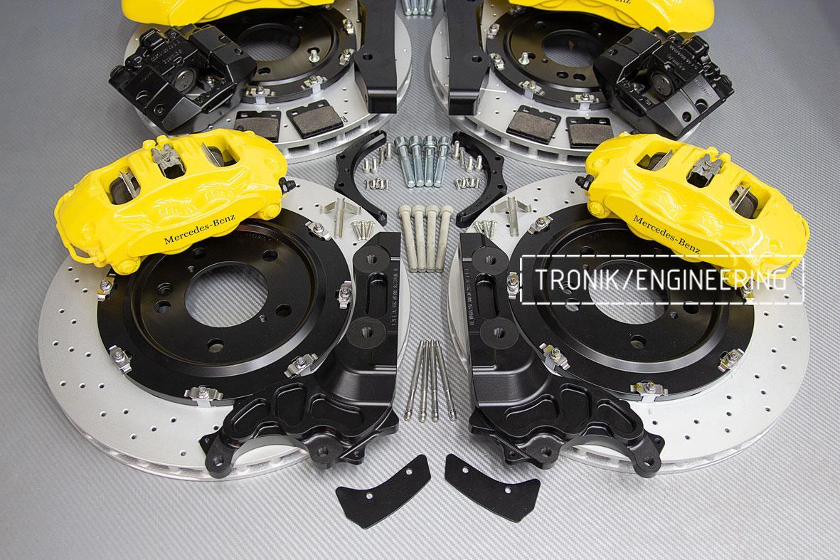 Комплект тормозной системы Mercedes-Benz W463276. фото. 8