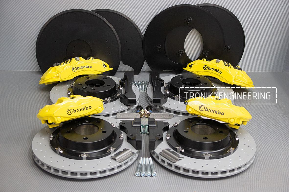 Комплект тормозной системы Mercedes-Benz W463. фото 1