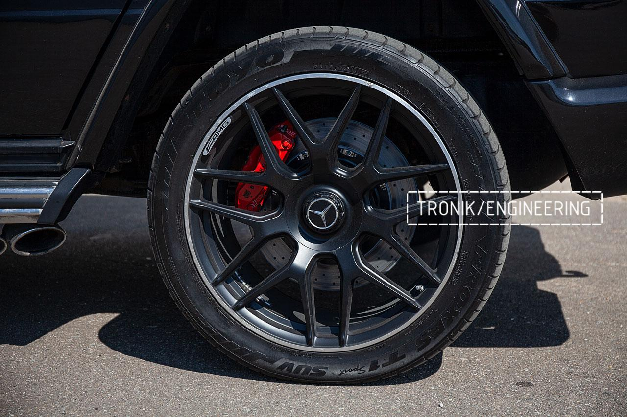 Тормозная система Mercedes-Benz W463 G500. фото 10